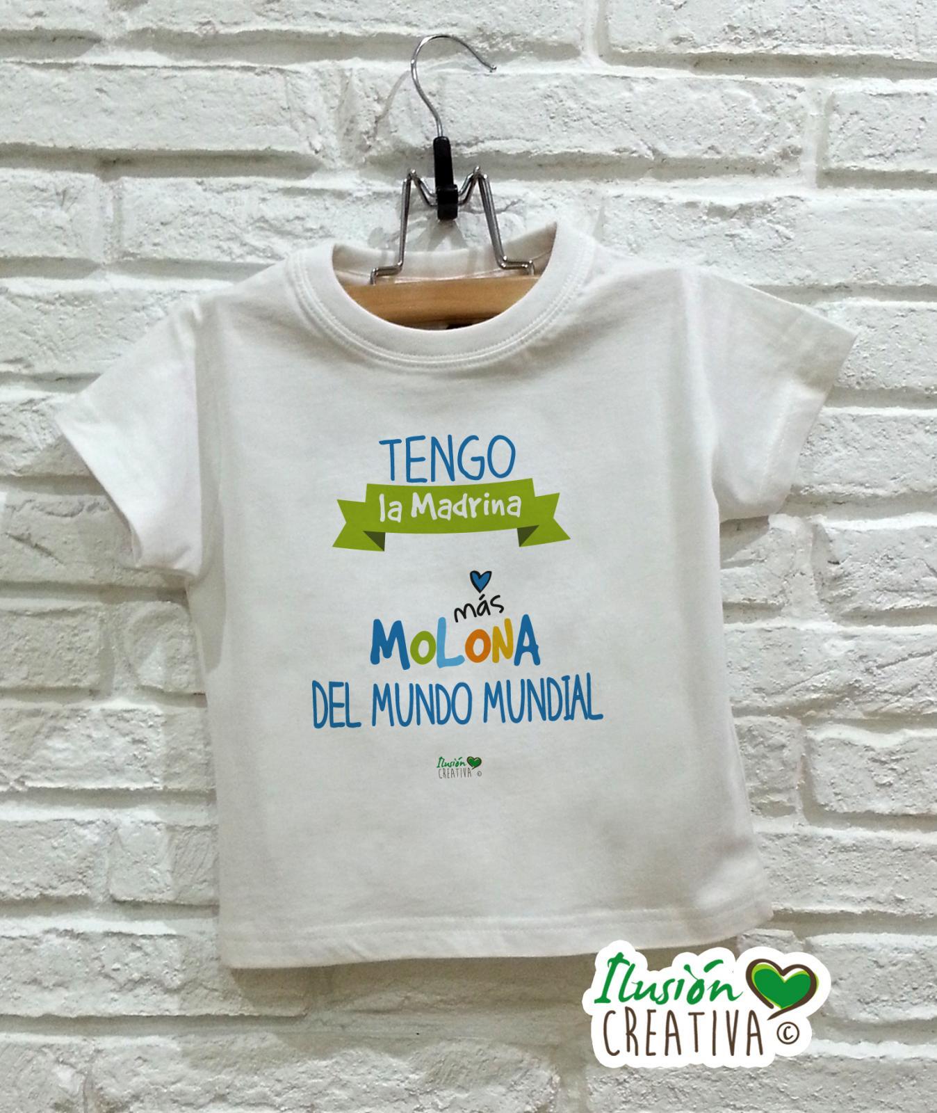 Camiseta niño - Madrina molona