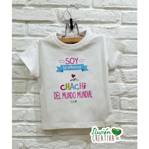 Camiseta niña - Sobrina chachi