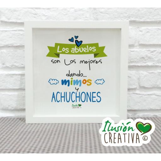 Cuadro decorativo Abuelos Achuchones - Niño