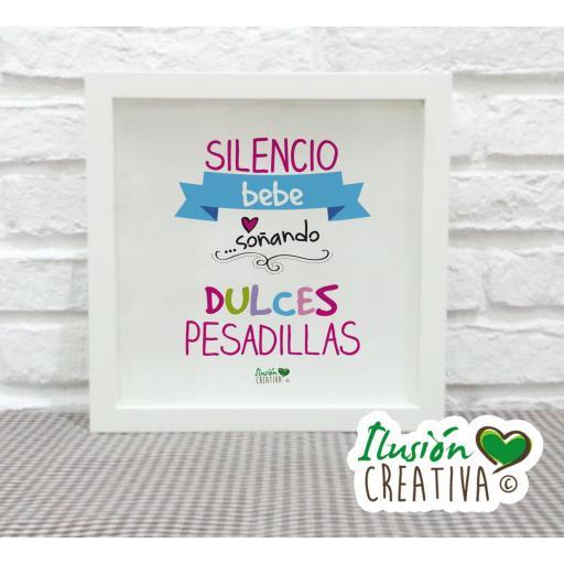 Cuadro Decorativo Dulces Pesadillas - Niña
