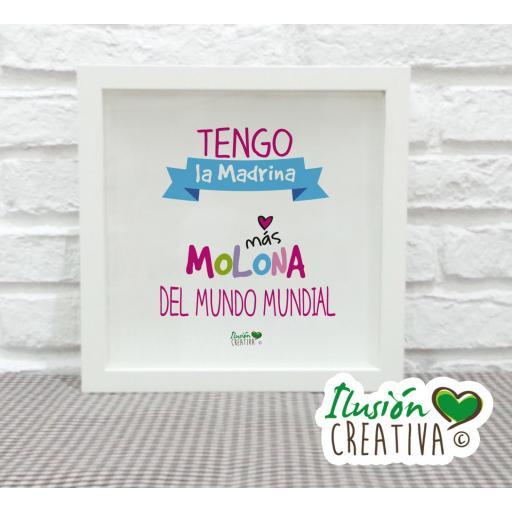 Cuadro Decorativo Madrina Molona