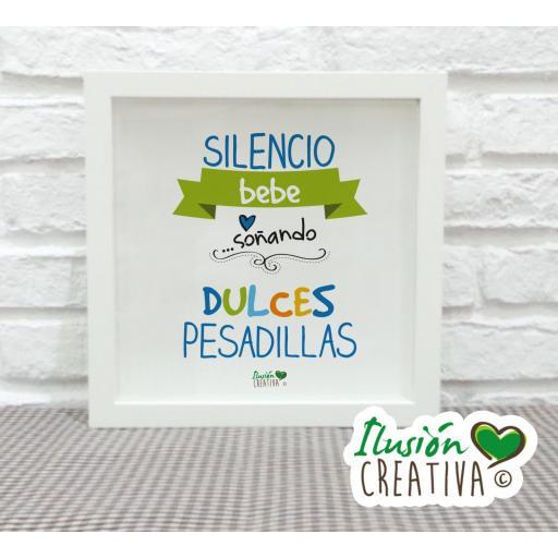 Cuadro Decorativo Dulces Pesadillas - Niño