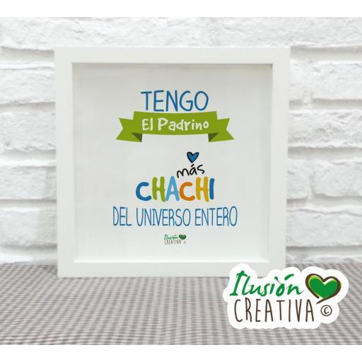 Cuadro Decorativo Padrino chachi