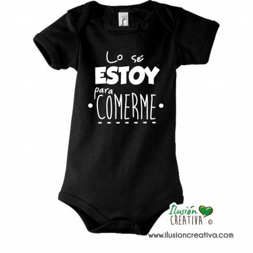 Body Niñ@ Colección Mensaje - Lo sé, estoy para comerme [1]