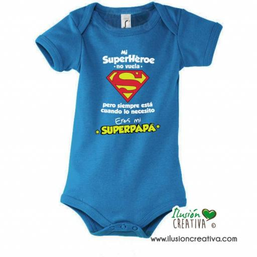Body Bebé - SuperHéroe, Super Papá!