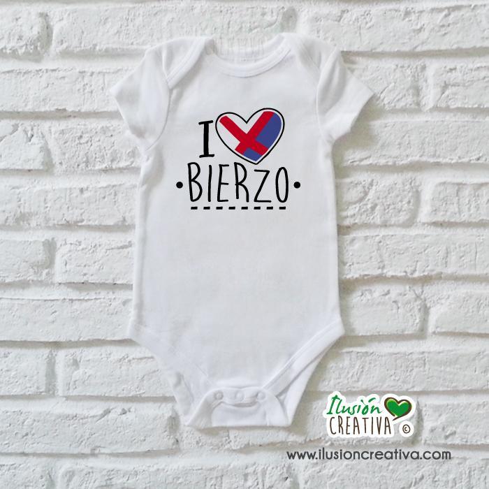 Body Niñ@ Colección Bierzo - I love Bierzo