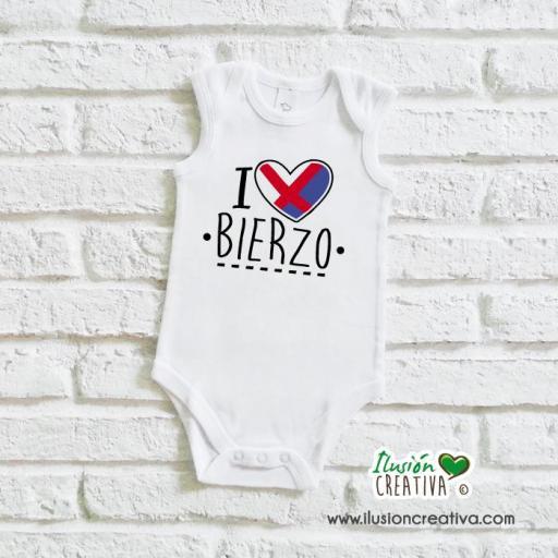 Body Niñ@ Colección Bierzo - I love Bierzo [1]