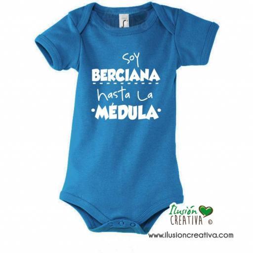 Body Colección Bierzo - Soy berciana hasta la médula