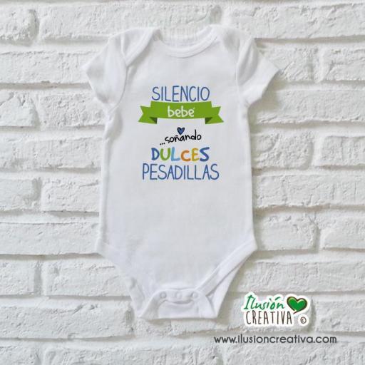 Body Niño Colección Amorosa - Dulces pesadillas