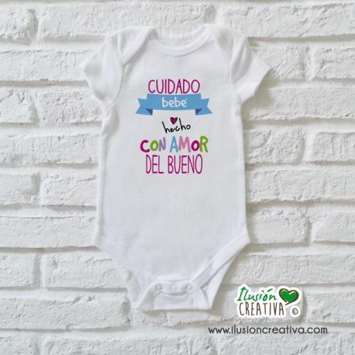 Body Niña Colección Amorosa - Bebé hecho con amor del bueno