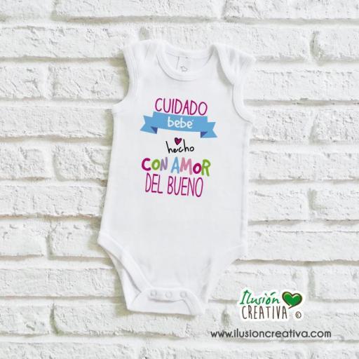 Body Niña Colección Amorosa - Bebé hecho con amor del bueno [1]