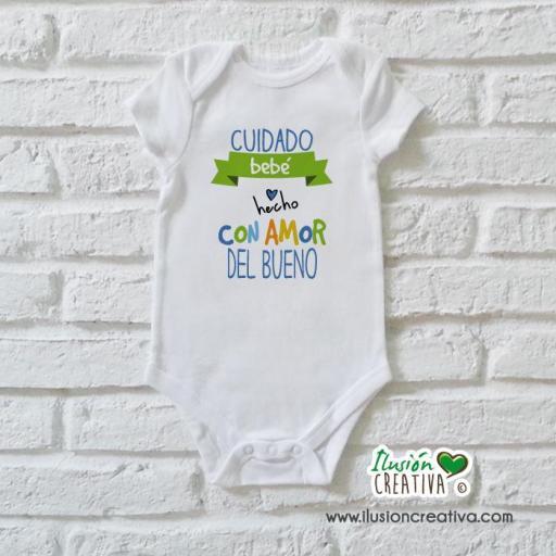 Body Niño Colección Amorosa - Bebé hecho con amor del bueno