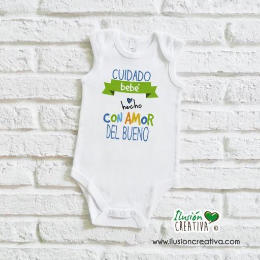 Body Niño Colección Amorosa - Bebé hecho con amor del bueno [1]