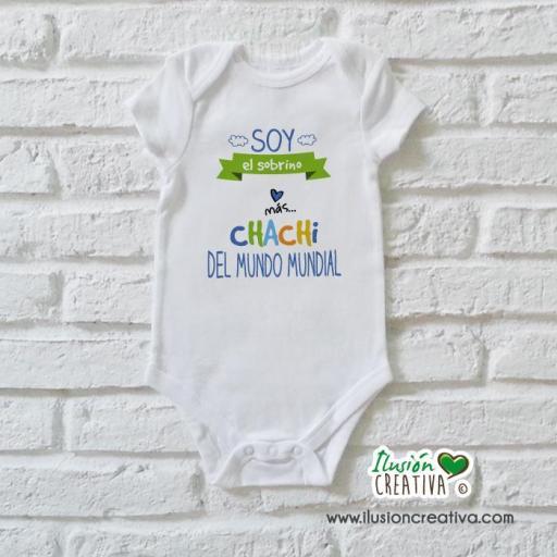Body Niño Colección Amorosa - Sobrino chachi