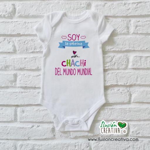 Body Niña Colección Amorosa - Sobrina chachi
