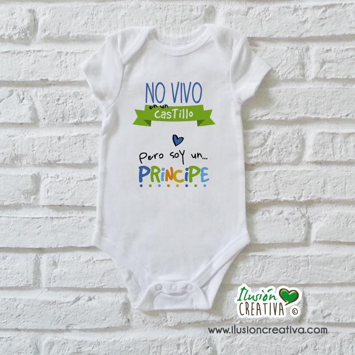 Body Niño Colección Amorosa - No vivo en un castillo pero soy un príncipe