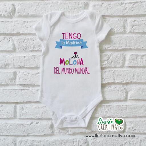 Body Niña Colección Amorosa - Madrina molona