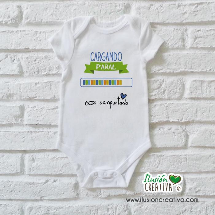 Body Niño Colección Amorosa - Cargando pañal
