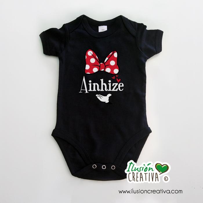 Body Minnie Personalizado