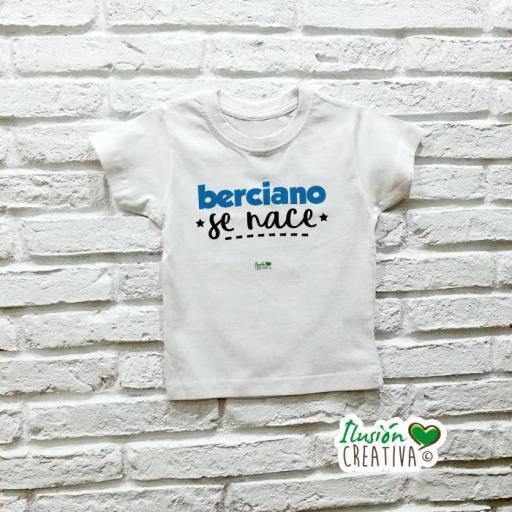 Camiseta niñO - Berciano se nace