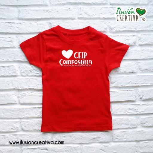 Camiseta Niño/a Colegio