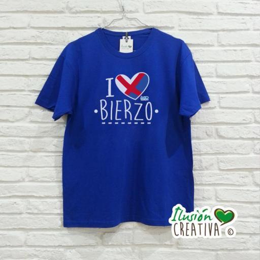 Camiseta Hombre - I love Bierzo