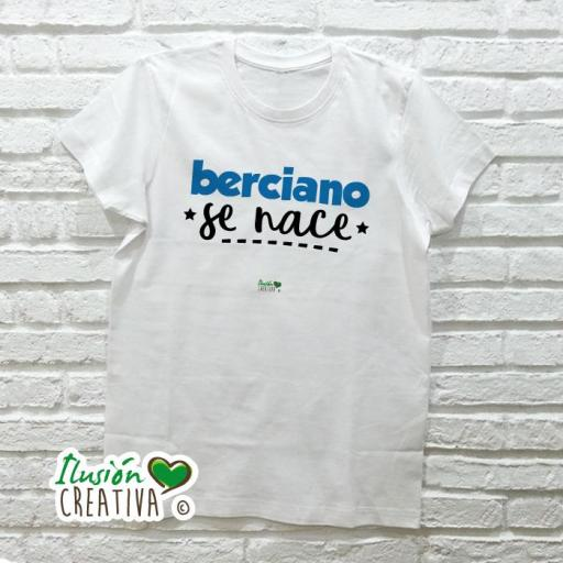 Camiseta Hombre - Berciano se nace
