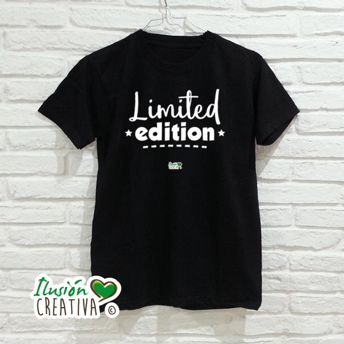 Camiseta Hombre.- Limited Edition