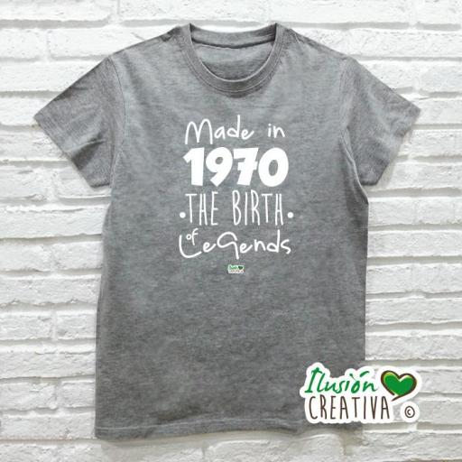 Camiseta Hombre.- Leyendas [1]