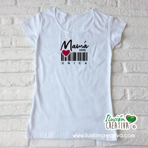 Camiseta Mamá 100% única