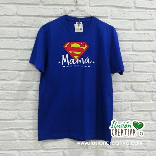 Camiseta Super Mamá