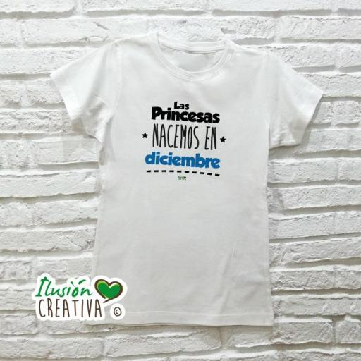 Camiseta Mujer - Las Princesas nacemos en [1]