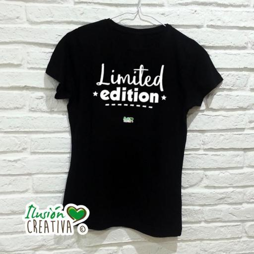 Camiseta Mujer - Limited Edition