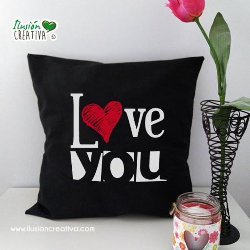 Funda de cojín - Love You