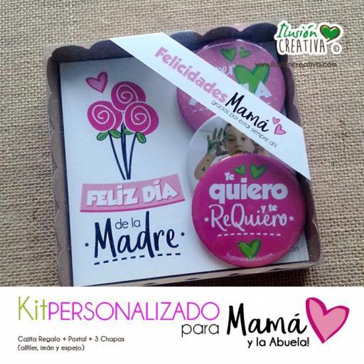 Kit Personalizado Día de la Madre