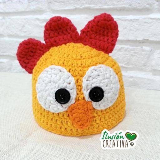 Conjunto crochet.- Gallito kiriki [1]
