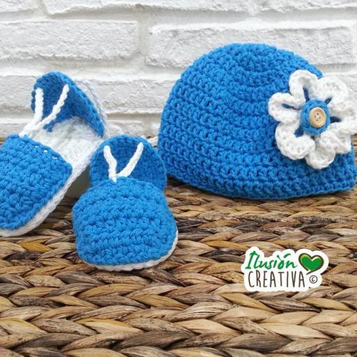 Conjunto crochet.- Campesina