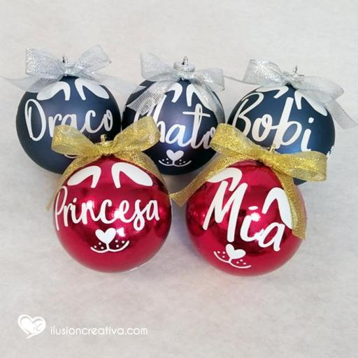 Bolas de Navidad Personalizadas PERRO [1]