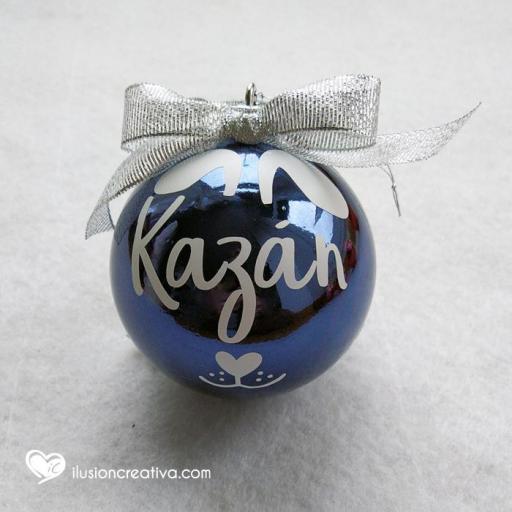 Bolas de Navidad Personalizadas PERRO