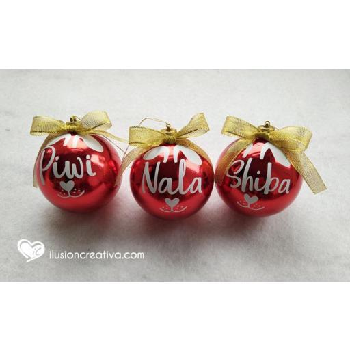 Bolas de Navidad Personalizadas PERRO [2]