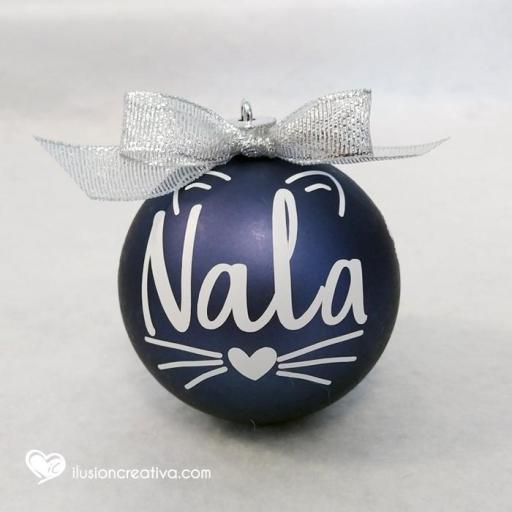 Bolas de Navidad Personalizadas GATO