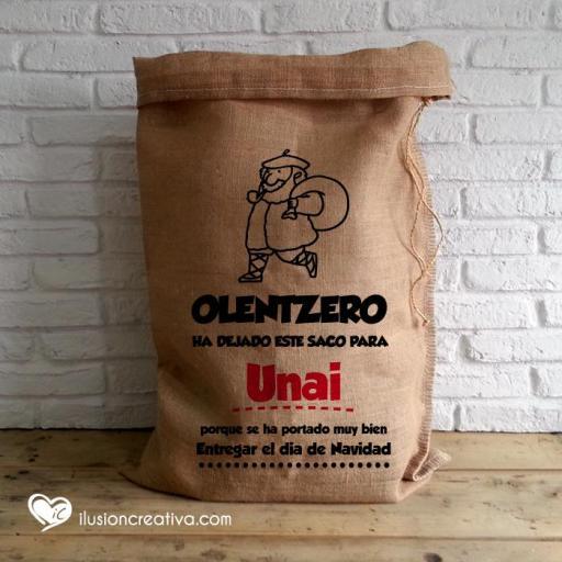 Saco Personalizado Olentzero