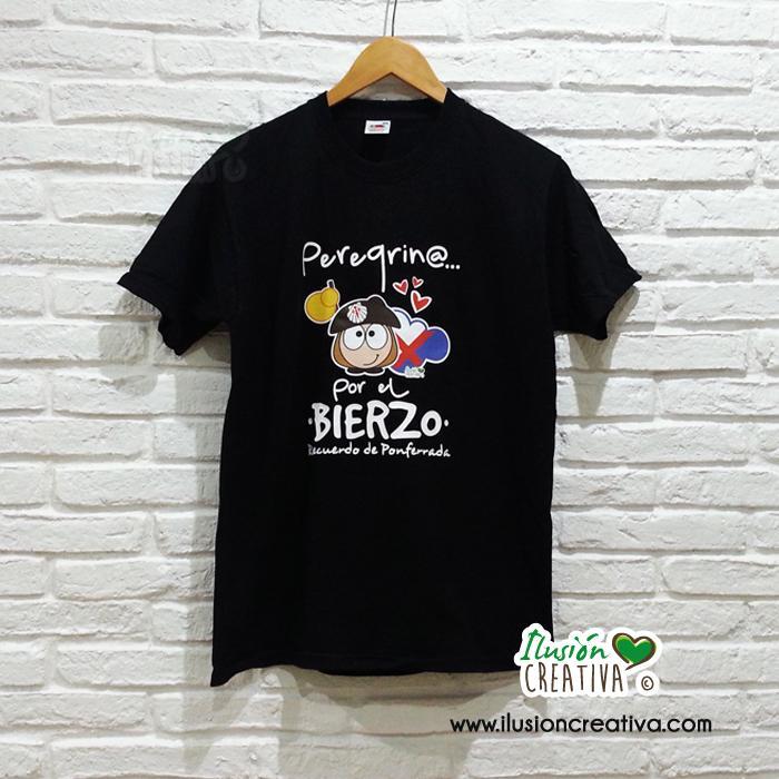 Camiseta Unisex - Peregrino por el Bierzo