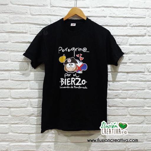 Camiseta Unisex - Peregrino por el Bierzo [0]