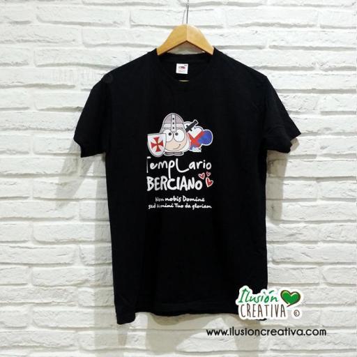 Camiseta Unisex - Templario Berciano