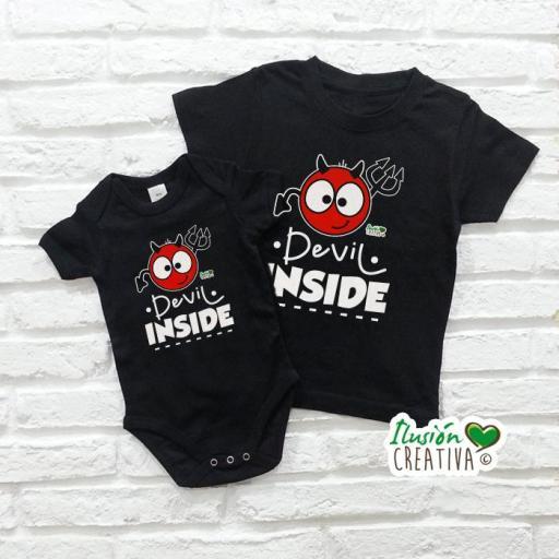 Camiseta Devil Inside