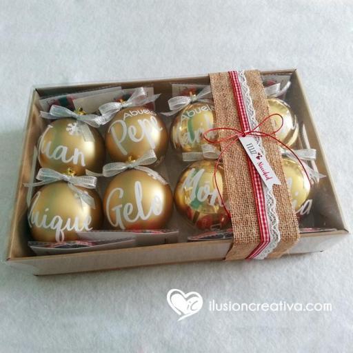 Caja  para Navidad