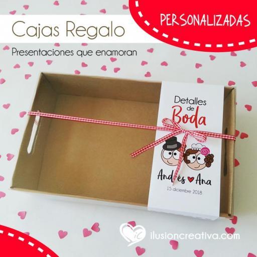 Caja PERSONALIZADA para Bodas - Chiquinetes Namoraos