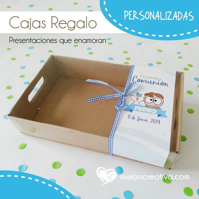 Caja PERSONALIZADA para Comunión - Chiquinete Primera Comunión - Niño