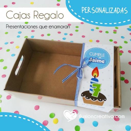Caja PERSONALIZADA para Cumpleaños - Niño